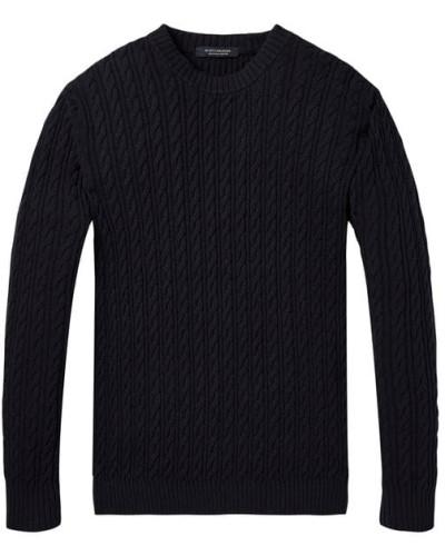 Leichter, strukturierter Pullover