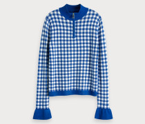 Gingham Pullover