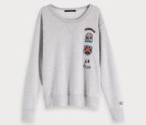 Appliqué Artwork Sweater