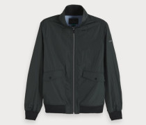 Nylon Harrington-Jacke