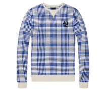 Sweatshirt mit Allover Print