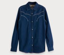 Indigo Western Shirt