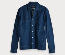Workwear-Shirt aus Denim