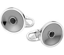 Montblanc Manschettenknöpfe, rund, aus