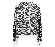 Cropped Allover Zebra