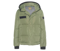 Hooded Down Olive