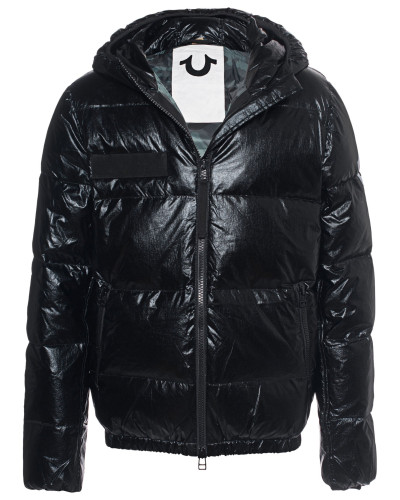 Hooded Down Outdoor Black