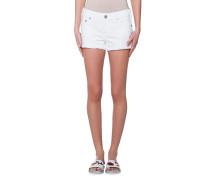 Keira Fray Short Optic White