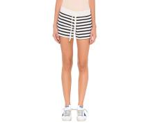Short Stripes Blue White