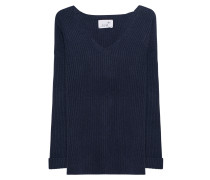 V Neck Cashmere Navy