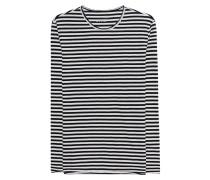 Striped Black White