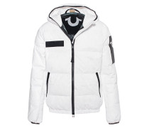 Hooded Down Outdoor White