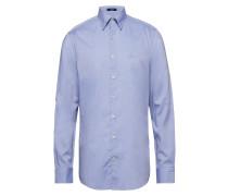 Tp Oxford Plain Reg Hbd Hemd Business Blau GANT
