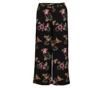 Eloise 881 Crop, Black Tropical, Pants