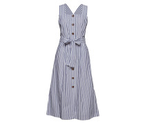 Flew Dress Kleid Knielang Blau INWEAR