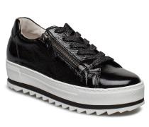 Sneaker Sneaker Plateau Schwarz