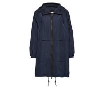Coats Woven Parka Jacke Mantel Blau EDC BY ESPRIT