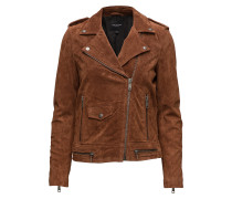 Sflore Suede Jacket Camp