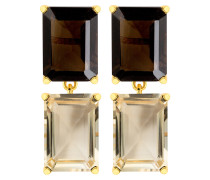 Emerald-Cut Earrings