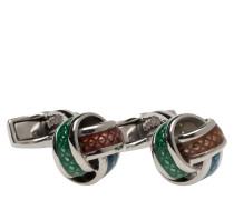 Tateossian Multicolour Knot Cufflinks