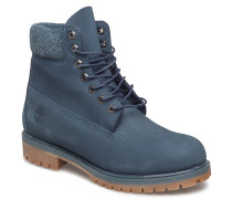 6in Prem Bt Wp Schnürstiefel Blau