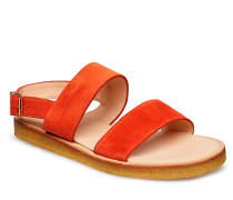 5452 Flache Sandalen Rot ANGULUS