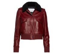 Zip Up Ltr Shearling