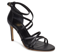Sandals 8161 Sandale Mit Absatz Schwarz