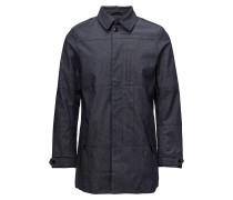 Coated Denim Coat