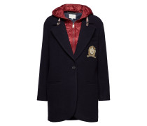 Tommy Icons Wool And Nylon Coat