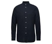 Daniel-Clean Linen Hemd Business Blau J. LINDEBERG