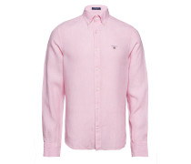 The Leinenhemd Slim Bd Hemd Business Pink GANT