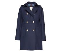Madison Coat Wollmantel Mantel Blau TOMMY HILFIGER