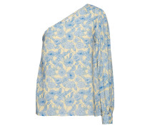Oneshoulder-Bluse mit Blumenprint