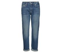 Ckj 061 Mid Rise Boy Straight Jeans Hose Mit Geradem Bein Blau CALVIN KLEIN JEANS
