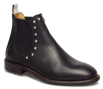 Mollyhood Low Leather Boot Stiefeletten Chelsea Boot Schwarz ODD MOLLY