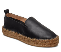 Wayfarer Loafer Sandalen Espadrilles Flach Schwarz ROYAL REPUBLIQ