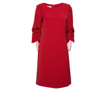Dress Woven Fabric Kleid Knielang Rot GERRY WEBER