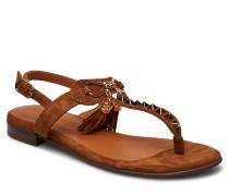 Sandals 8626 Flache Sandalen Braun