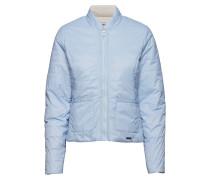 Reversible Light Gefütterte Jacke Sommerjacke Dünne Jacke Blau
