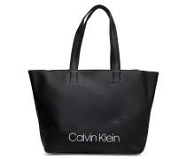 Collegic Shopper Shopper Tasche Schwarz CALVIN KLEIN
