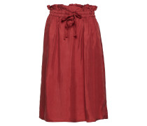 Cupro Skirt With Tie Detail At Waistband