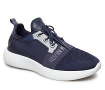 Mel Knit Ckj Logo Niedrige Sneaker Blau