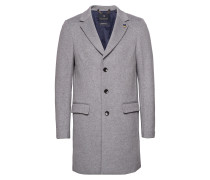 Classic 3-Button Coat In Wool Blend Quality
