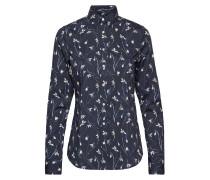 O2. Snowdrop Shirt Langärmliges Hemd Blau
