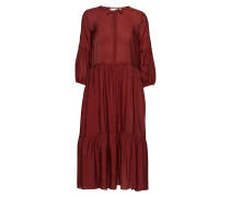 Scotia Dress Kleid Knielang Rot INWEAR