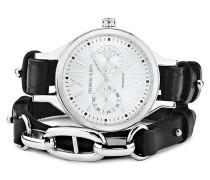 Tf Prominent Sl 4s2 + Tarpan Ss Black Uhr Silber DYRBERG/KERN