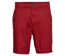 Slim Chino Short Bermudashorts Shorts Rot LEE JEANS