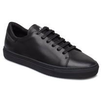 Sneaker Lt Block Calf Niedrige Sneaker Schwarz J. LINDEBERG