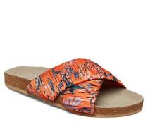 Sandy Sylvia Sandal Flache Sandalen Bunt/gemustert